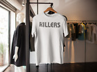 THE KILLERS LOGO T SHIRT SAMS TOWN BATTLEBORN V FESTIVAL 2014
