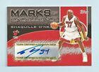 SHAQUILLE O'NEAL 2004 05 TOPPS MARKS OF EXCELLENCE SIGNATURE AUTOGRAPH AUTO