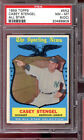 1959 Topps #552 Casey Stengel The Sporting News All-Star PSA 8 (OC) Graded Card