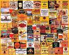 GREAT WHISKIES    1000 Pc Puzzle    History Liquor  Collage     White Moutain