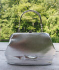 Silver Evening Clutch Purse -  Vintage 1940s-1964