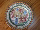 """222 Fifth 12 Days of Christmas 11th Eleventh Day Salad Dessert Plate 8"""""""