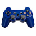 New Wireless Bluetooth Game Console Controller  for Sony PS3 Blue Free Shipping