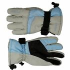Seirus Women's Ski Glove - Phantom™ Gore-Tex®  - Light Grey/Sky Blue