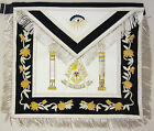Masonic Apron Deluxe Past Master with Pillars Mason Freemason US Seller