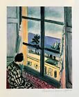 HENRI MATISSE SEASIDE Estate Signed  Stamped Limited Edition Small Giclee Art