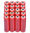 20x AA 2A 3000mAh 1.2 V Ni-MH rechargeable battery cell for RC Toy Camera Red