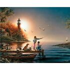NEW White Mountain Puzzles Sea to Shining Sea - 1000 Piece Jigsaw Puzzle