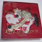 Fitz and Floyd Happy Holidays Ornament - Santa Claus with Toy Sack EUC!!!