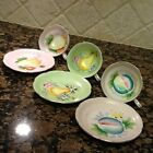 Ceramic & Porcelain,FERN Cups/Saucers sets Japan Fruit Patterns Multi-Color