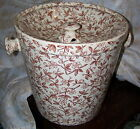NICE Antique IRONSTONE SLOP POT & INSERT LID