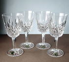 Waterford LISMORE GOBLET SET OF FOUR (4) Crystal 8 oz. New