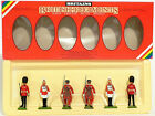 Britains Toy Soldiers No 7226 2 Scots Guards 2 Life Guards 2 Yeomen Of The Guard