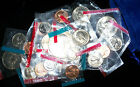 1/4 Pound of MINT SET COINS in a Great TREASURE Bag!  (BU-GEM)