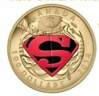 2014 Iconic Superman 14K Gold Coin Comic Book Covers The Adventures Of Superman