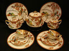 MARKED Kutani JAPANESE SHOWA KUTANI TEA POT / EGG SHELL CUP & SAUCER / PLATE SET