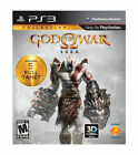 God of War Saga for PS3- 5 full games on 2 discs, downloads too! MINT!