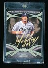 JOSE ABREU 2014 TOPPS TIER ONE GOLD INK AUTOGRAPH AUTO NEW GUARD RC #D 1 1 RARE