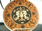 Antique Jessie Toller Berlin 1883 Hand Painted Porcelain China Hanging Plate