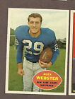 you pick any, lot of 10 cards from the 1958 1959 1960 Topps Football set