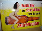 GERMAN  BEER      BREWERY    METAL SIGN TIN