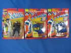 1991 1993 Toy Biz X Men Lot Cyclops 2 Versions Wolverine 5th Edition On Card