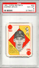 1951 Topps Red Backs Warren Spahn Boston Braves #30 PSA 8 NM-MT