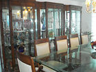 DECORATOR LUXURY LARGE DINING ROOM SET-CURIO CABINETS