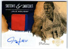 JRUE HOLIDAY 2013 PANINI COURT KINGS AUTO AUTOGRAPH PATCH CARD #3 25!