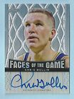 CHRIS MULLIN 2013 LEAF FACES OF THE GAME REFRACTOR AUTOGRAPH AUTO 50