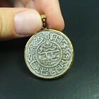 Ancient Handmade Ottoman Large Coin Pendant 22K Gold over 925K Sterling Silver