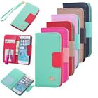 Wallet Card Holder PU Leather Durable Flip Pouch Case Cover For iPhone 6 4.7''