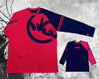 Wrong Gear Men Gambeson Snowboard Ski Tall T-shirt Long Tee Cotton Thumb hole