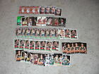 LOT OF 56 BRENT & JON BARRY CARDS W 30 ROOKIE CARDS