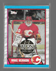 Mike Vernon 1 1 Card, The National Sports Collectors Convention COA (1 of 1)