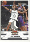 2010 2011 PANINI THREADS TONY PARKER 3 COLOR SEAM PATCH NUMBERS 22 50