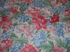 Cotton Fabric Concord Joan Kessler Large Floral Allover on White 5YD Quilt Sew