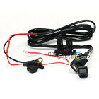 USB Power Port Cables GPS Mobile Phone Charger 12V Honda CBR 600 1000 CB Hornet