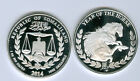 2014 PROOF LIKE YEAR OF THE HORSE 1 OUNCE PURE 999 SILVER COIN SOMALILAND