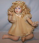 GEORGETOWN COLLECTION 10TH ANNIVERSARY.  ANGEL KISSES PORCELAIN DOLL. EXCELLENT!