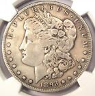 1893-S Morgan Silver Dollar $1 - NGC Fine Details - Rare Key Date Certified Coin