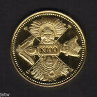 Papua New Guinea.  1979 Gold 100 Kina.  Faces of Nation..  AGW.2769oz.. PROOF