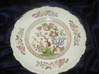 ROYAL CAULDON DINNER PLATE X2899 STRATFORD INDIAN TREE MULTICOLOR FLOWER FLORAL