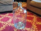 VINTAGE LARGE 5-Gallon Mexican CRISA GLASS WATER BOTTLE Jar-Jug