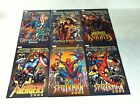 MARVEL UNIVERSE HANDBOOKS 6 one shot issues SPIDER-MAN, AVENGERS, FANTASTIC FOUR