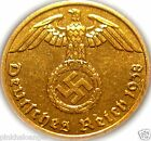 Germany - German 3rd Reich - Germa 1938A Rp Coin with Swastika - WW 2  Rare Coin