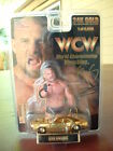 WCW Goldberg Racing Champions 24K REAL Gold Plate Chevy Camaro 1:64 1998 wwe