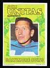 1971 TOPPS POSTER JOHNNY UNITAS COLTS