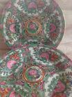VINTAGE CHINESE PINK FAMILLE SMALL DISH decorated in Hong kong