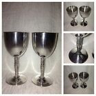 BEAUTIFUL VINTAGE ARTHUR PRICE PAIR SILVER PLATED WINE GOBLETS MADE IN ITALY